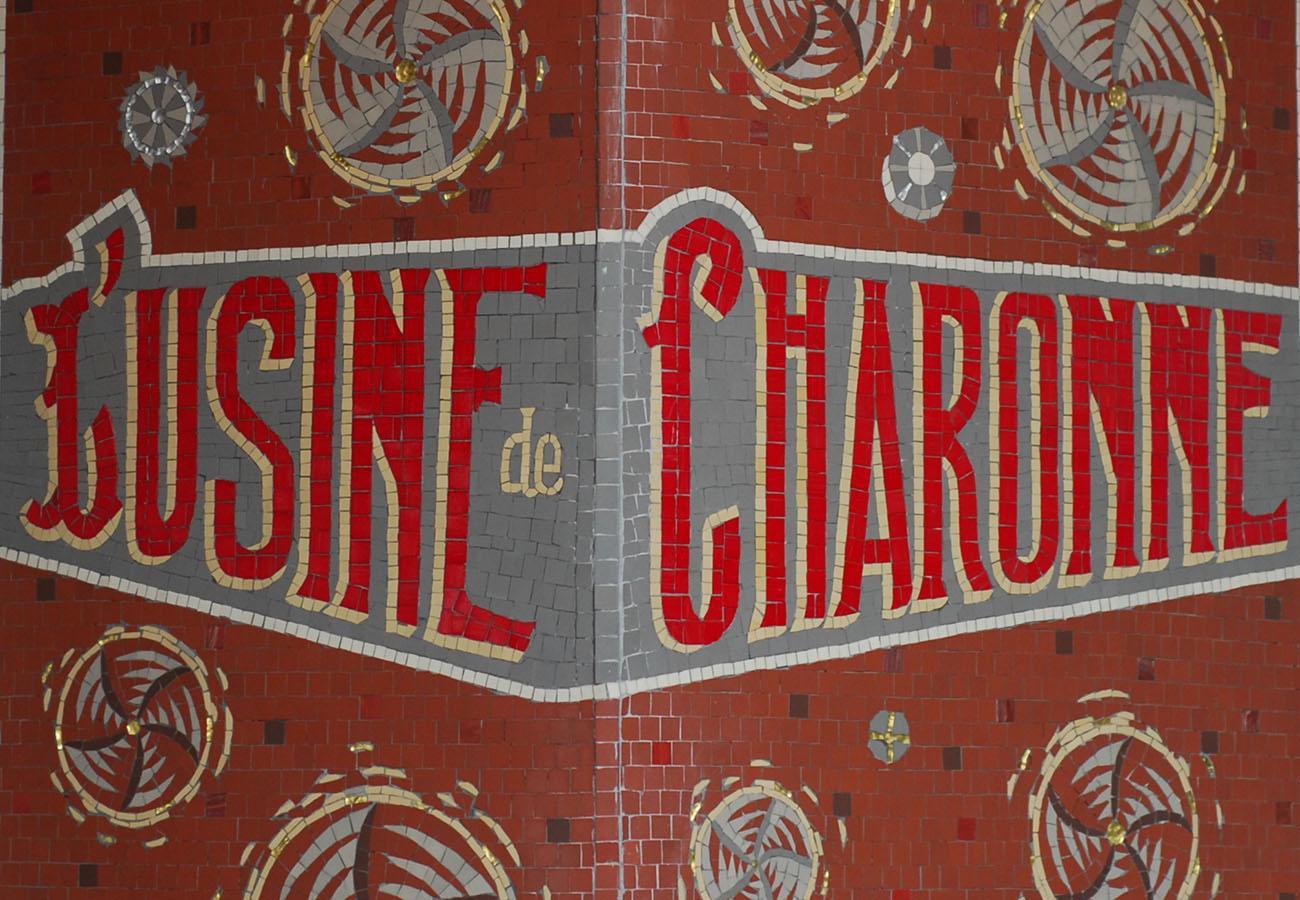 Mosaïque Usine de Charonne