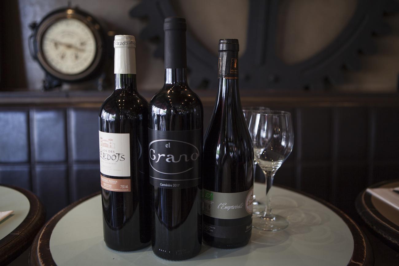 Les vins rouges Usine de Charonne